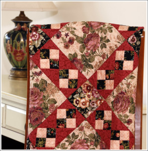 Rosies and Pansies Quilt