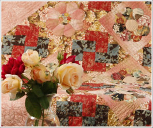 Kiku Blossom quilt