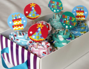 Fat quarter cupcakes are guilt free