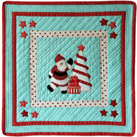 Santa's Christmas Cheer Wall Hanging