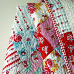Be Mine Free Quilt Pattern with Quilting