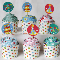 Fat Quarter Cupcakes are Guilt Free!