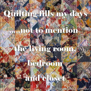 Quilting Fills my Days