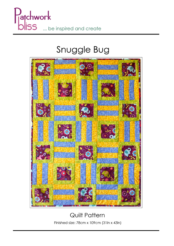 Snuggle Bug Quilt Pattern