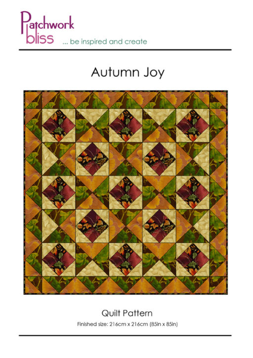 Autumn Joy Quilt Pattern