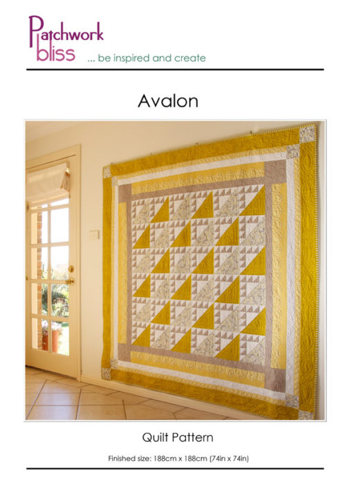 Avalon Quilt Pattern
