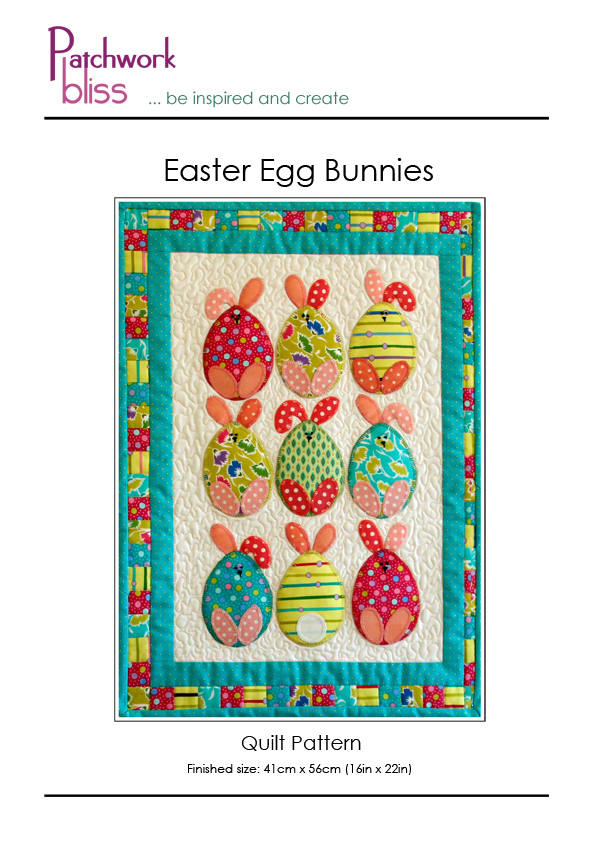 Easter Egg Bunnies Quilt Pattern