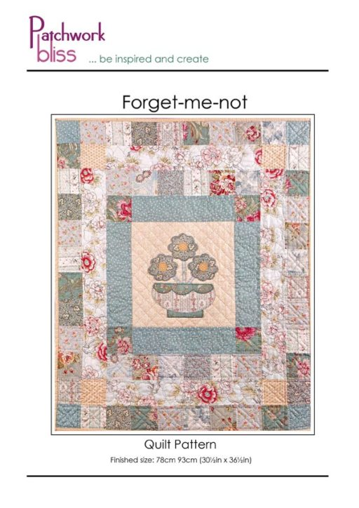 Forget-me-not Quilt Pattern