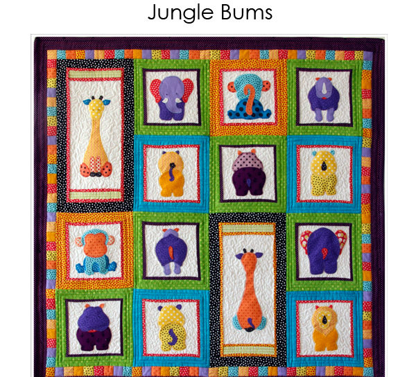 Jungle Buns Quilt Pattern