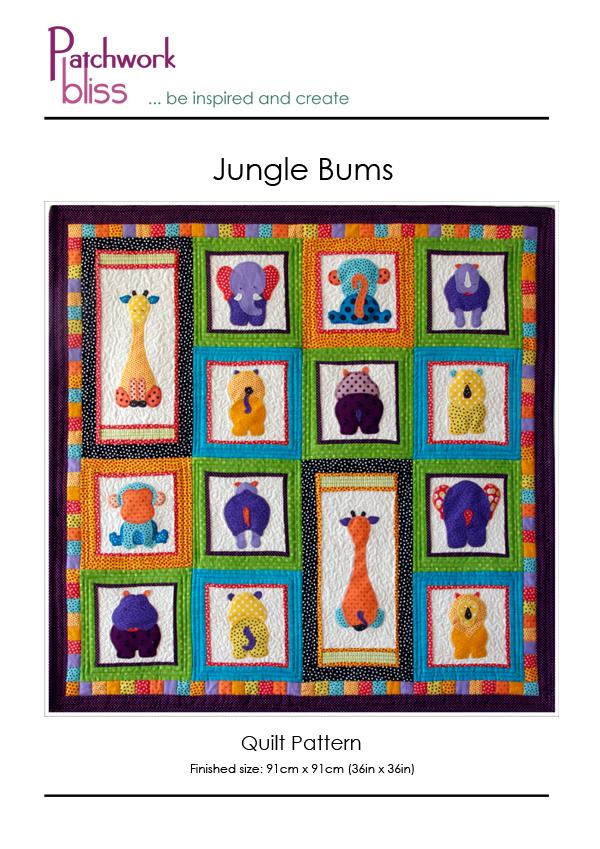 Jungle Buns Quilt Pattern
