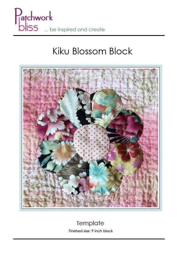 Kiku Blossom Block Template