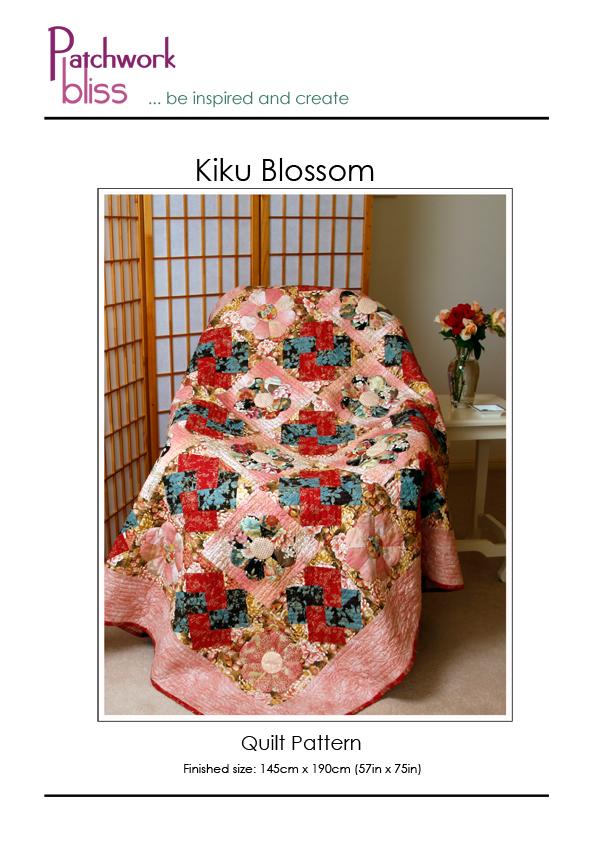 Kiku Blossom Quilt Pattern