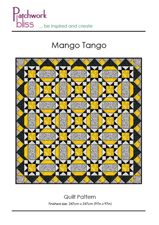 Mango Tango Free Quilt Pattern