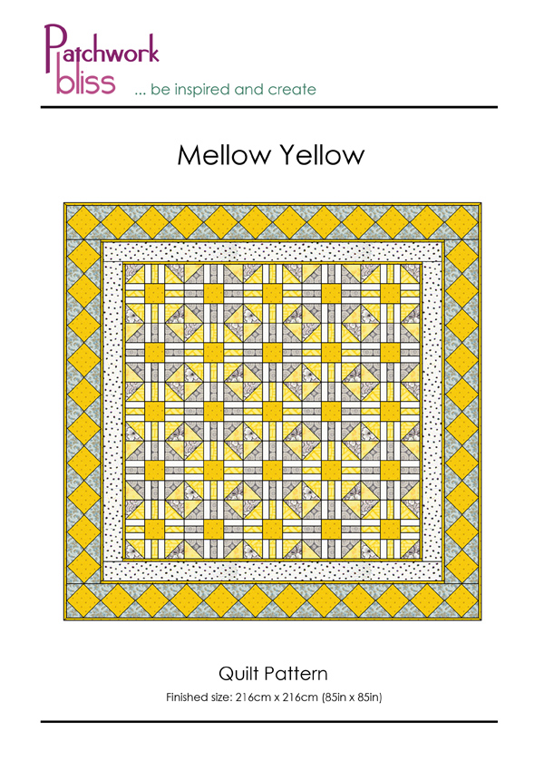 Mellow Yellow Quilt Pattern