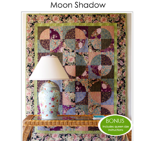 Moon Shadow Quilt Pattern