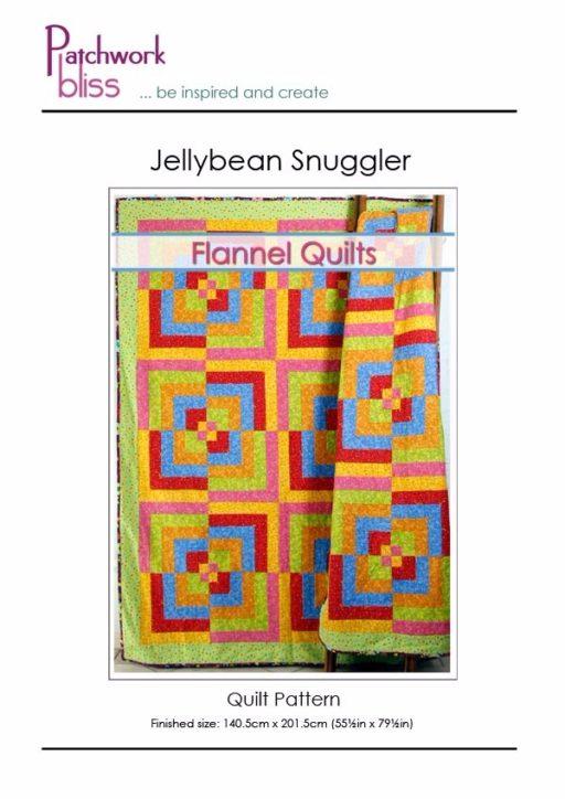 Jellybean Snuggler Quilt Pattern