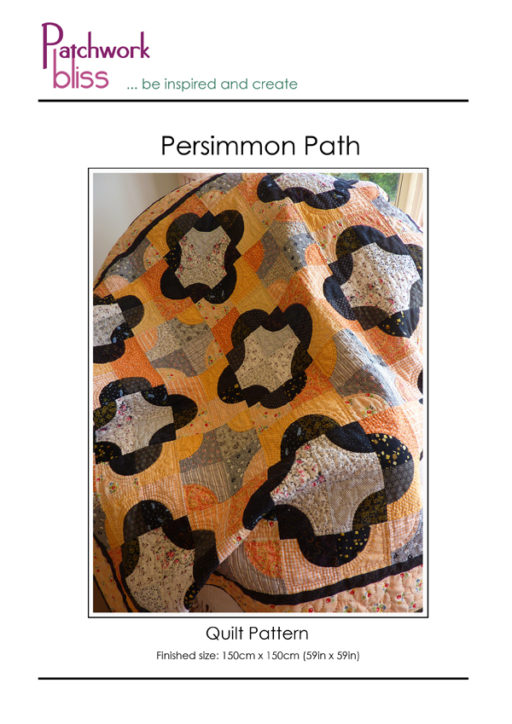 Persimmon Path Quilt Pattern
