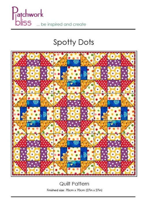 Spotty Dots Quilt Pattern