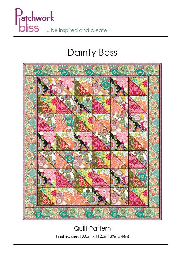 Dainty Bess Quilt Pattern