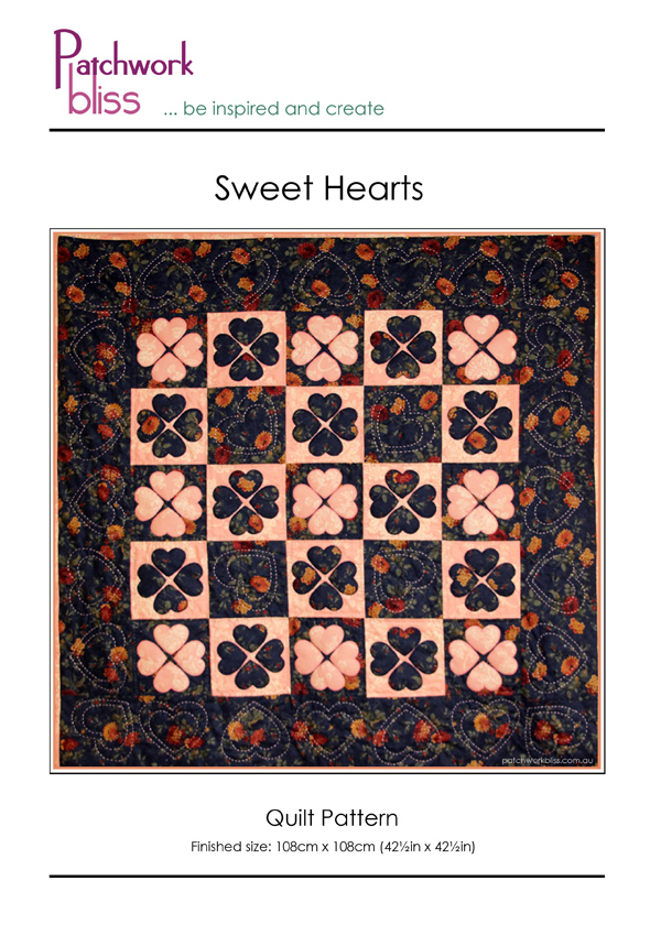 Sweet Heart Quilt Pattern