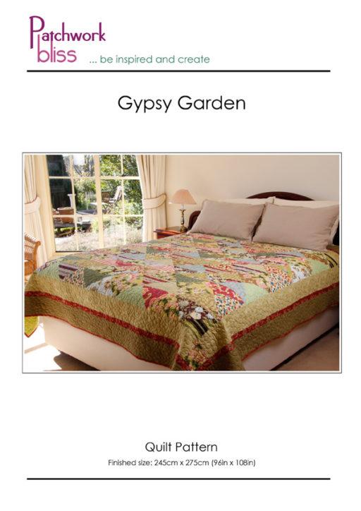 Gypsy Garden Quilt Pattern